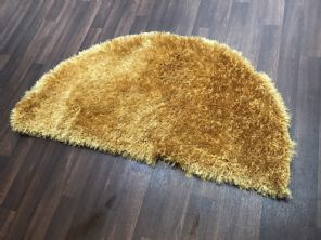 HALF MOON SHAGGYS RUGS 60CMX120CM WOVEN GOOD QUALITY NEW SUPER THICK PILE MUST
